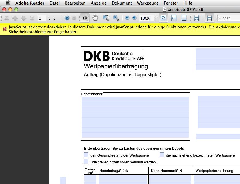 DKB Broker - Seite 5 - Broker, Bank und Handelsmanagement ...
